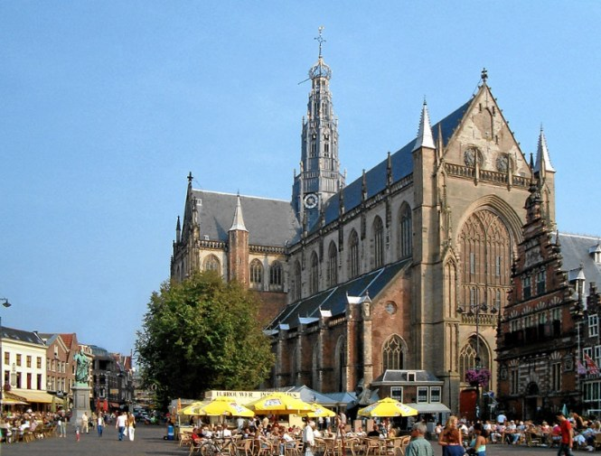 Sint Bavokerk - TOP 10 MOST FAMOUS DUTCH CHURCHES AND CATHEDRALS