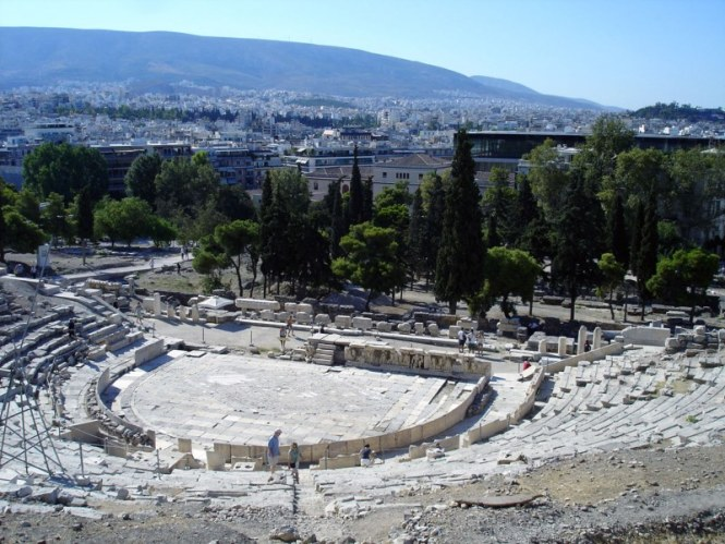 Dionysustheater - TOP 10 BEST AND MOST FAMOUS ATTRACTIONS IN ATHENE GREECE
