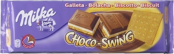 Milka Chocoswing Biscuit - TOP 10 BEST CHOCOLATE BARS IN THE WORLD