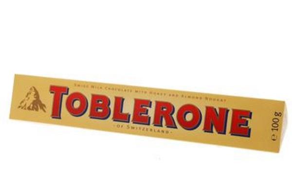 Toblerone Melk Honing Amandel - TOP 10 BEST CHOCOLATE BARS IN THE WORLD
