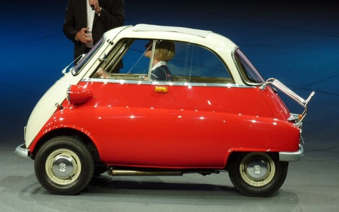 BMW Isetta - TOP 10 STRANGEST CARS EVER CREATED