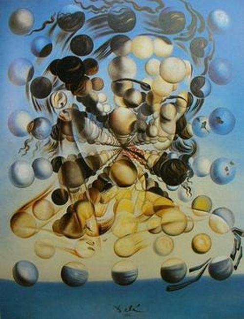 Galatea of the Spheres - TOP 10 MOST BEAUTIFUL PAINTINGS OF SALVADOR DALI