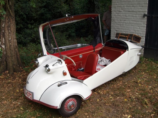 Messerschmitt KR200 - TOP 10 STRANGEST CARS EVER CREATED