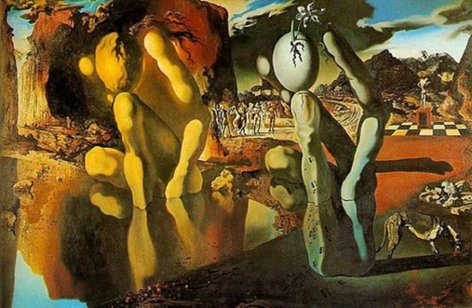 Metamorphosis of Narcissus - TOP 10 MOST BEAUTIFUL PAINTINGS OF SALVADOR DALI