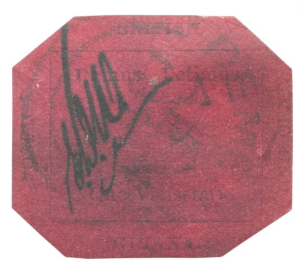British Guiana 1c Magenta - TOP 10 MOST EXPENSIVE STAMPS EVER SOLD