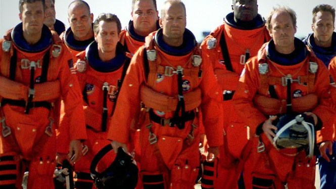 Armageddon - TOP 10 COOLEST MEN'S MOVIES