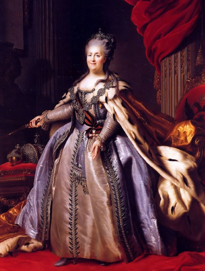 Catharina II van Rusland - TOP 10 MOST FAMOUS LEGENDARY QUEENS OF THE WORLD