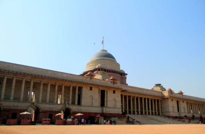 Rashtrapati Bhavan - TOP 10 LARGEST PALACES AND RESIDENTIAL BUILDINGS IN THE WORLD