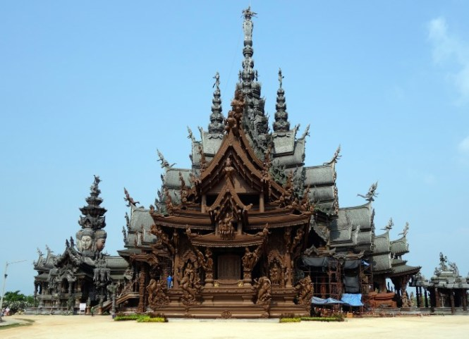 Sanctuary of Truth 2 - TOP 10 MOST BEAUTIFUL MONASTERIES IN THE WORLD