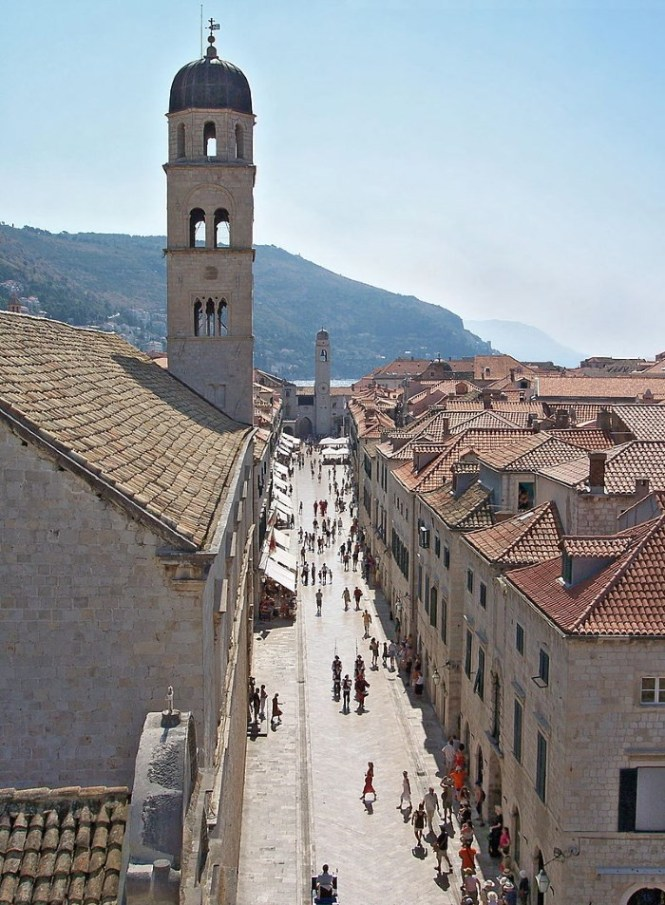 Stradun - TOP 10 TOURIST ATTRACTIONS IN DUBROVNIK FUN THINGS TO DO BEAUTIFUL THINGS TO SEE