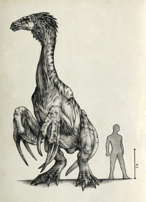 Therizinosaurus - TOP 10 STRANGEST DINOSAURS