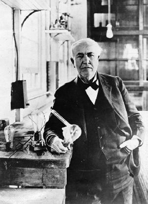 Thomas Edison - TOP 10 INVENTORS THAT HAVE CHANGED THE WORLD