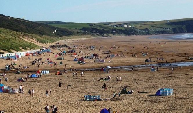 Woolacombe Beach - TOP 10 MOST BEAUTIFUL BEACHES IN EUROPE