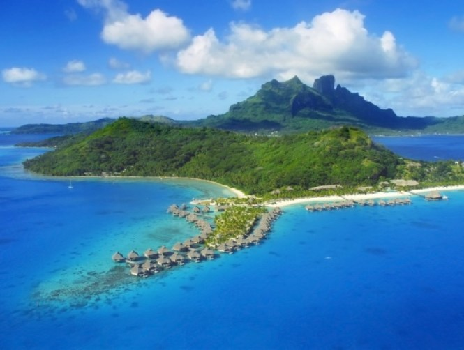bora bora - TOP 10 MOST BEAUTIFUL ISLANDS IN THE WORLD