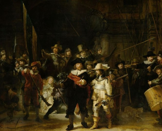 nachtwacht1 - TOP 10 MOST FAMOUS DUTCH PAINTERS OF ALL TIME