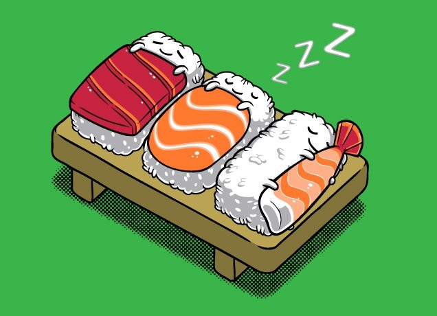 sushi - TOP 10 TIPS TO GET OLD FROM THE OLDEST PEOPLE IN THE WORLD