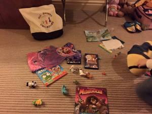 room full of toys for mobile creche