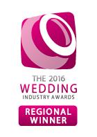 Wedding awards badge regional winner