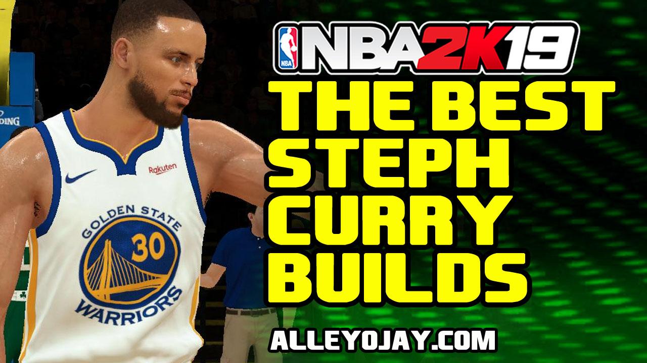 NBA 2K19 The Best Steph Curry Build   Alleyojay