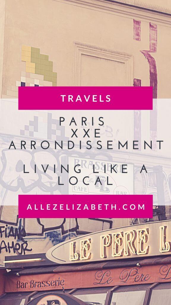 AE - PINTEREST - PARIS XXE ARRONDISSEMENT