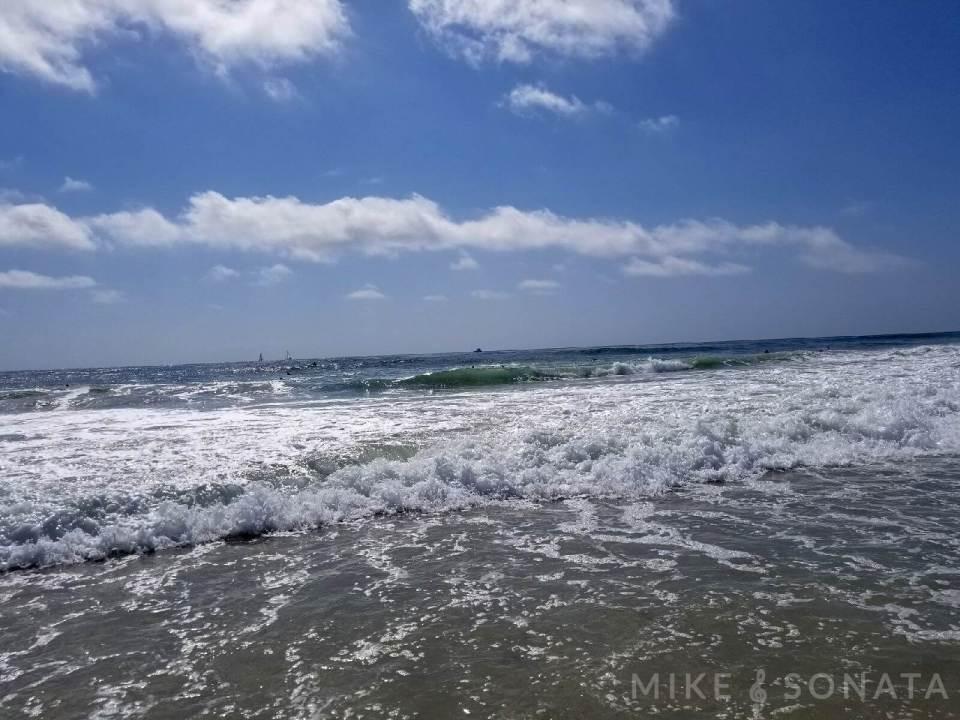 Allez Elizabeth Pacific Ocean AT SALT CREEK BEACH PHOTO BY MIKE SONATA