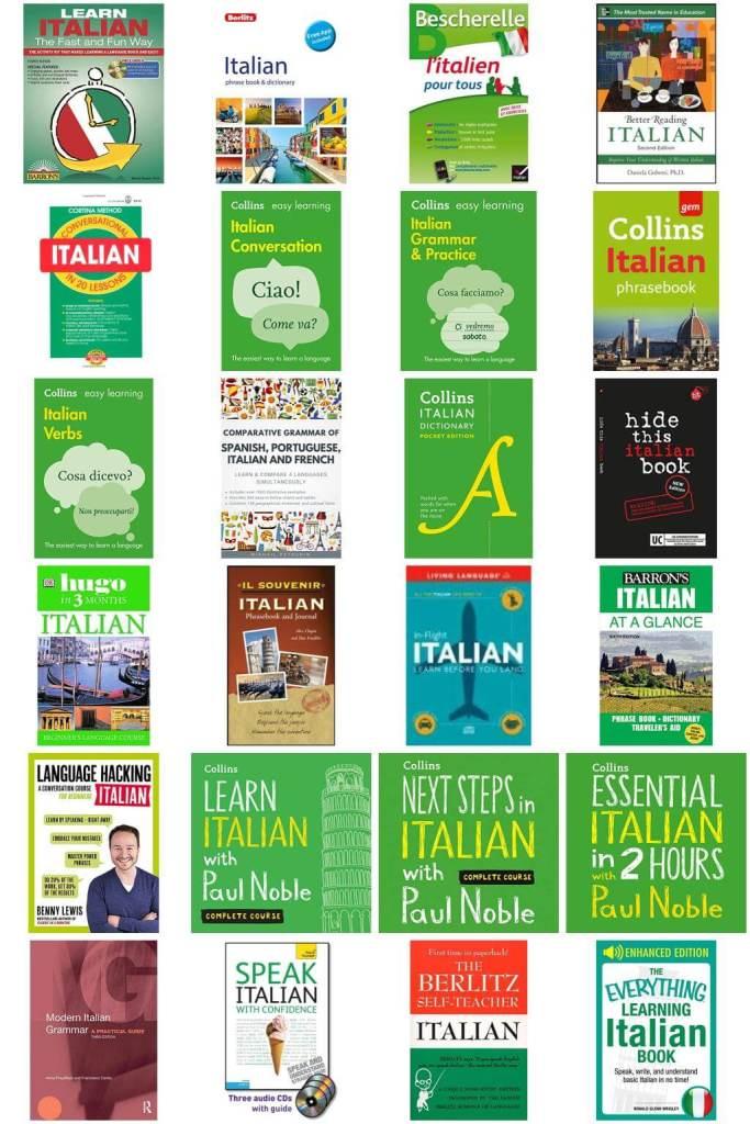 Allez Elizabeth ITALIAN LANGUAGE LEARNING RESOURCES BOOK LIST