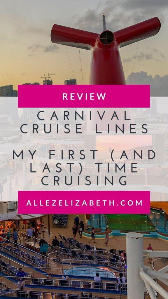 ALLEZ ELIZABETH - PINTEREST - CARNIVAL CRUISE LINES REVIEW