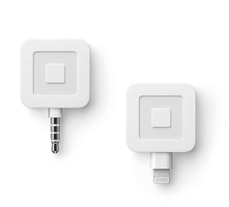 PICTURE OF SQUARE READER FOR MAGSTRIPE