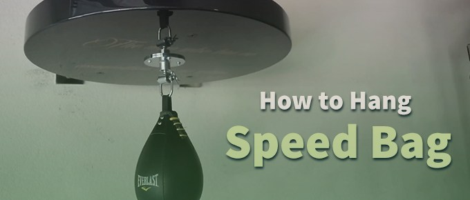 How to Hang Speed Bag