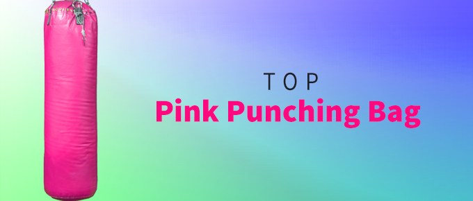 Pink Punching Bag