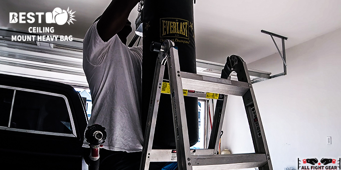 Ceiling Mount Heavy Bag