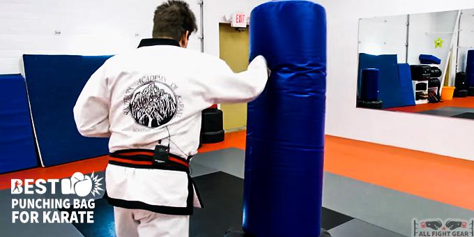 Punching Bag for Karate