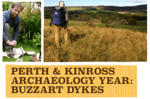 Perth and Kinross Archaeology Year 2017: Navigation courses. Buzzart Dykes.