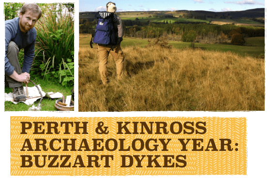 Exploring the Ancient Sites of Highland Perthshire: Advanced Navigation, Buzzart Dykes, 21 Aug
