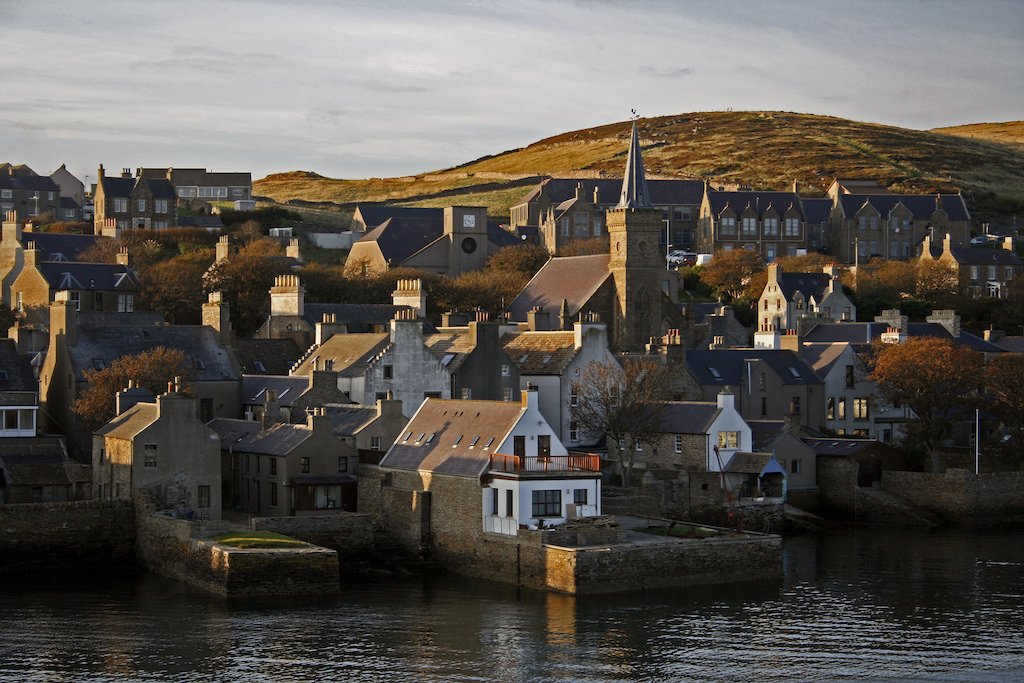 Houses in Stromness