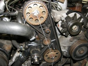 Timing belt settings ford 23 engine