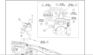 ABS brake lines diagram HELP!  Ford Mustang Forum