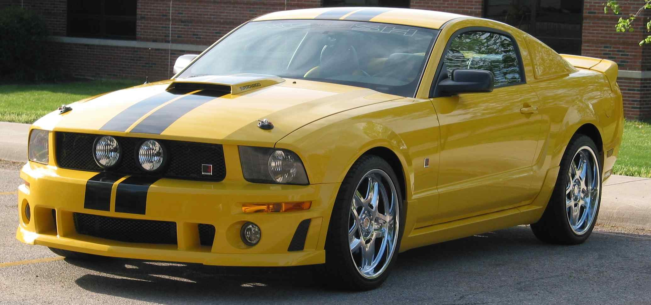 Roush Wing On My Black Convertible Page 2 Ford