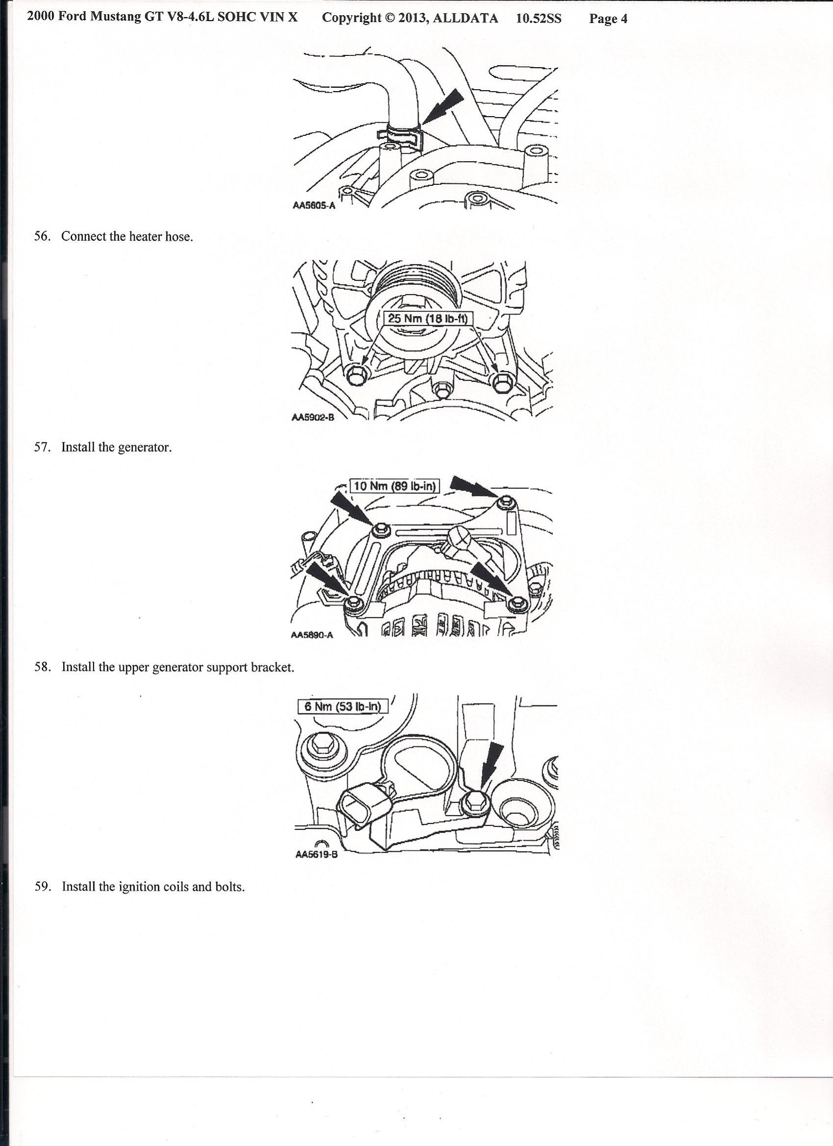 Mustang Rebuild 4 6 2v Engine