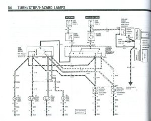 Fox turn signal wiring diagram  Ford Mustang Forum