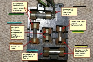 1965 Mustang fuse panel  fuse box diagram?  Page 2