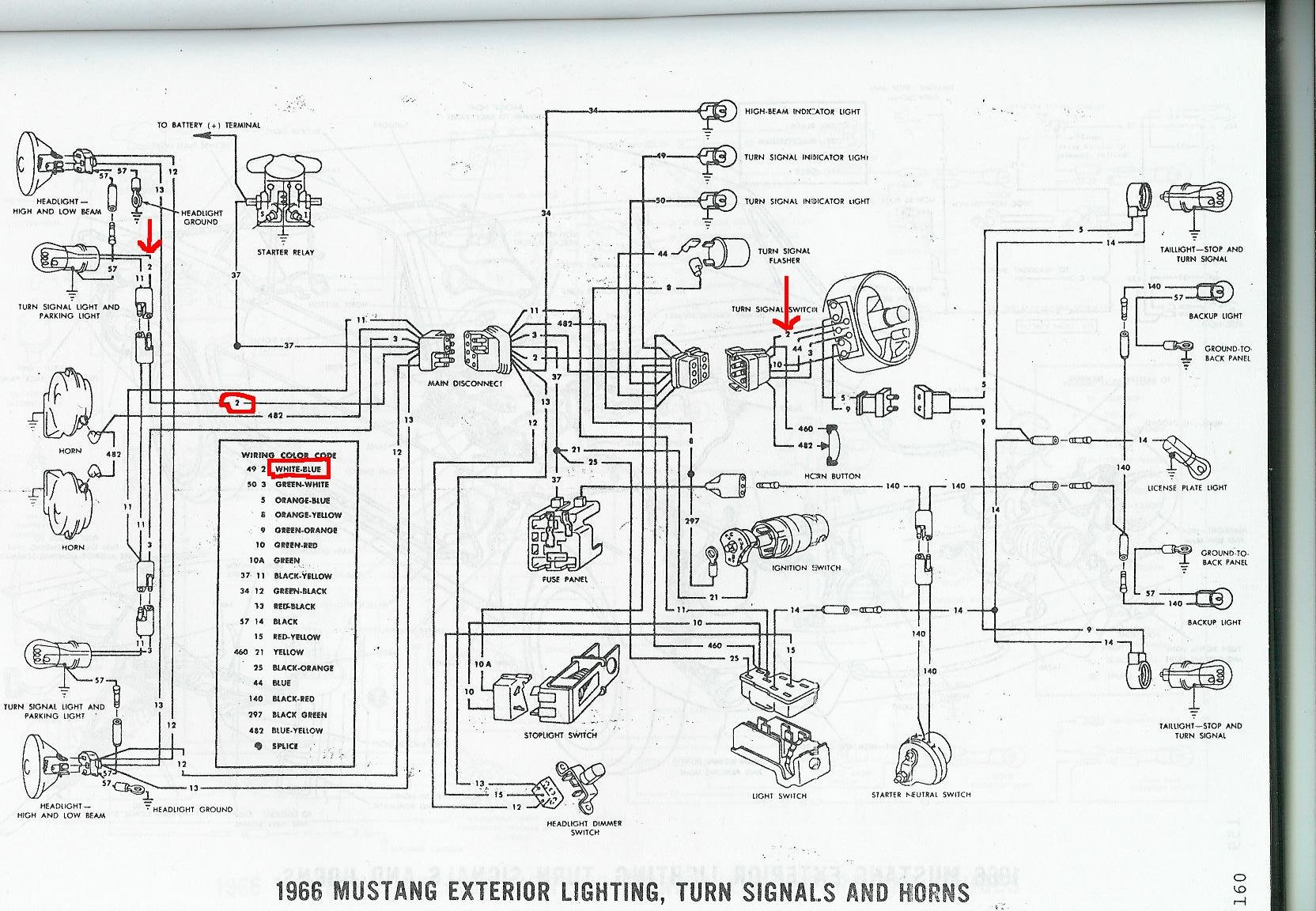 Mustang Horn Wiring Diagram Schematic Diagram