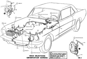 1964 12 MustangPolarizing a Generator  Ford Mustang Forum