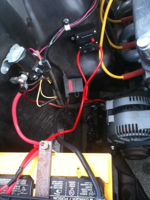 single wire alternator install on a 1966 mustang problems?  Ford Mustang Forum