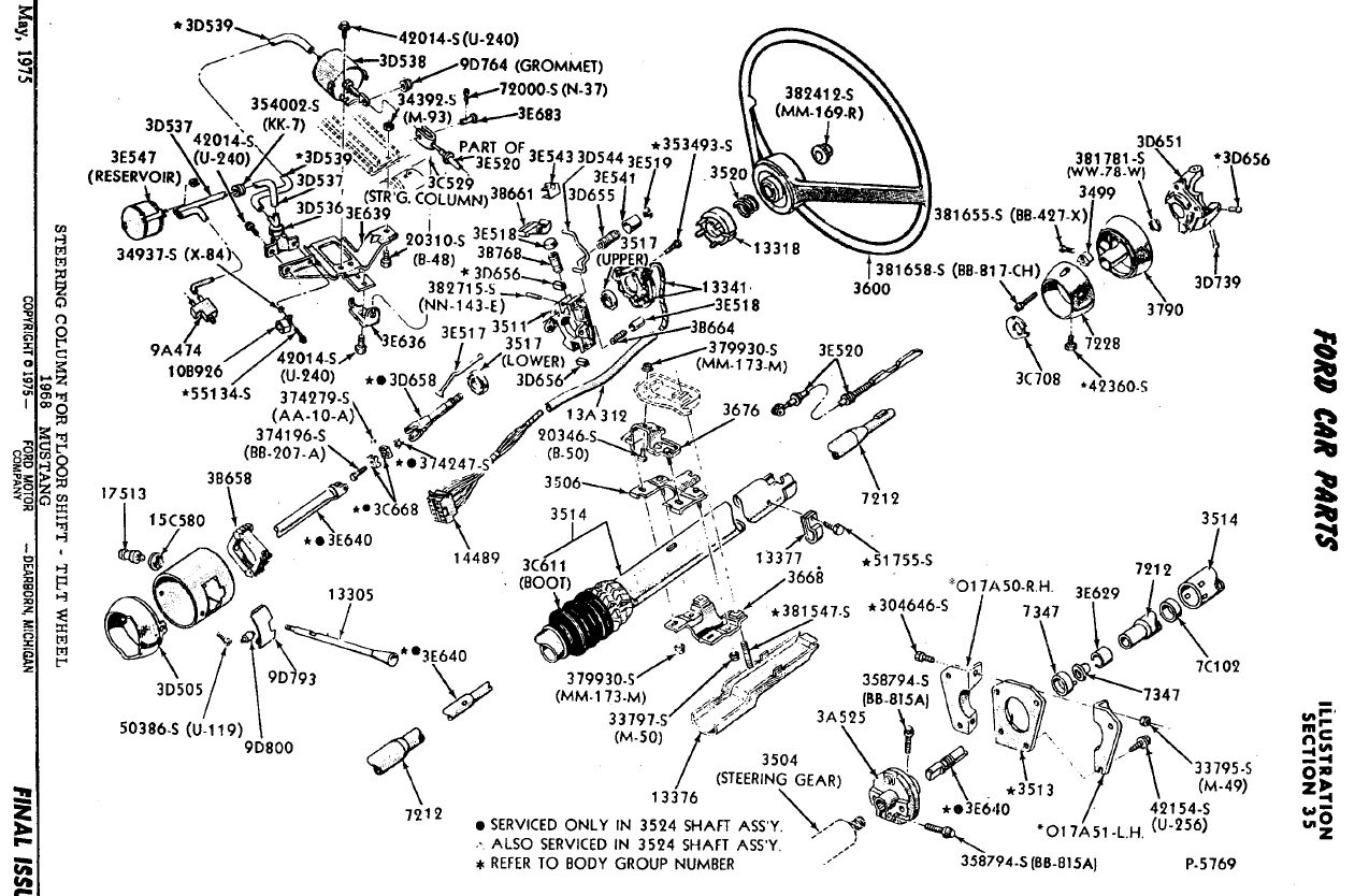 Flaming River Steering Column Wiring Diagram For
