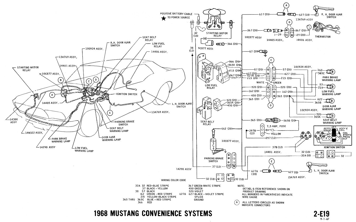 67 Gto Wiring Diagram Light