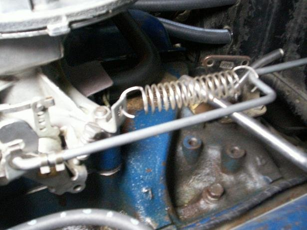 289 2 Barrel Throttle Link Diagram