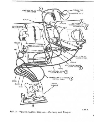 vacuum check valve orientation?  Ford Mustang Forum