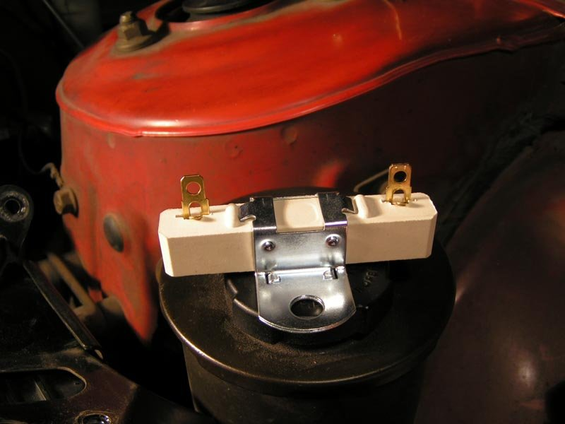 289 Resistor Question