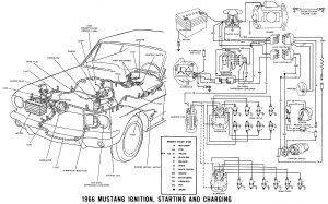 1966 Mustang Ignition Switch Diagram  What Pins are What